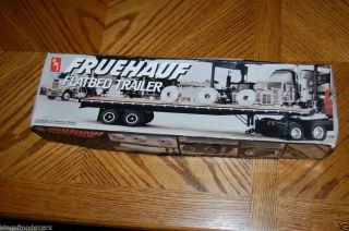 AMT Fruehauf Flatbed Trailer Model Kit