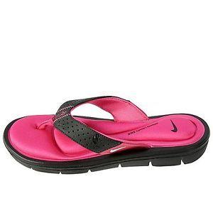 Nike Comfort Thong 354925 012 Womens Flip Flops Sandals Slides Black
