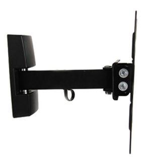 """Loctek 14"""" 40"""" Full Motion Tilt Swivel LCD LED TV Wall Mount Bracket PSW711"""