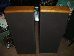 Pair of DCM Timeframe TF250 Floor Standing Speakers TF 250 Real Nice Set