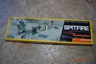 Spitfire Bentom Rubber Powered Foam Model Airplane Kit