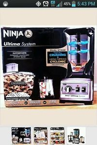 Ninja Ultima BL820 Complete Kitchen System Blender Food Processor Juicer