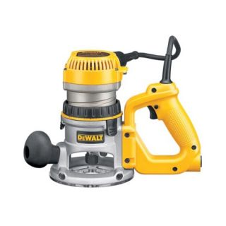 Dewalt DW618D 2 1 4 HP EVS D Handle Router with Soft Start