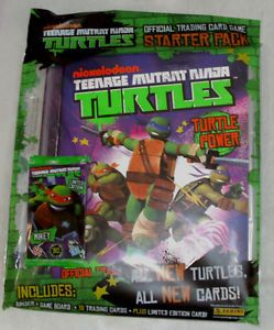 Panini Teenage Mutant Ninja Turtles Trading Card Game Starter Pack with Binder