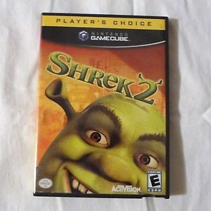 Shrek 2 for Nintendo GameCube Donkey Princess Fiona Eddie Murphy