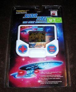 Star Trek The Next Generation LCD Handheld Video Game Tiger Electronics