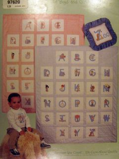 Precious Moments Cross Stitch Pattern Booklet 25 Alphabet Kids