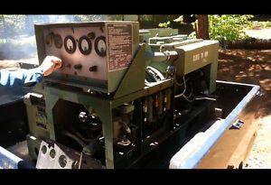 Libby MEP 003A 10KW Generator US Military Genset w Trailer 1PH 3PH 120 220ACV
