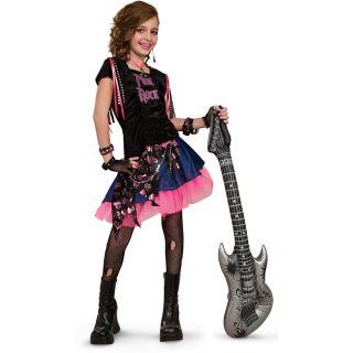 Pink Rock Girl Child Costume Pink Rocker Rock Rock Star Rockstar Rock Girl Pink
