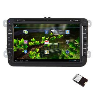 "Android 8""Car DVD Player Radio Stereo GPS Nav Unit for VW Passat Golf 5 6 Tiguan"