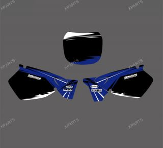Team Graphics Backgrounds Decals Stickers Yamaha YZ125 YZ250 1999 2000 2001