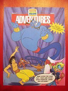 Burger King Kids Club 1992 Aladdin Newsletter Volume 3 Issue 8 Mint Condition