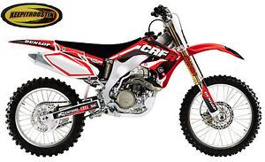 Flu Designs Graphics Seat Cover Kit Honda CRF 450 2005 2008 CRF450R