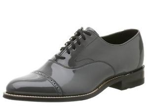 Stacy Adams Men's Concorde Gray Leather Dress Shoe 11003 011
