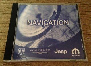 2013 Chrysler Dodge Jeep Navigation DVD Map GPS RB1 Rec Navi Unit Update Latest
