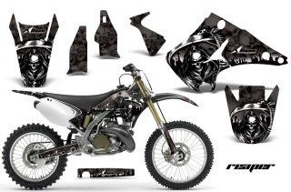 AMR Racing Dirt Bike Motorcycle Sticker Kit Kawasaki KX 125 250 03 12 Reaper K