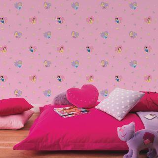 Disney Princess 'Hearts' Wallpaper 10M New Official Matches Border