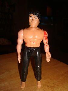 Vintage 1986 Karate Kid Chozen Action Figure Remco Ninja Toy Chuck Norris Movie