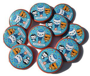 12 Octonauts Birthday Party Button Favors Badges