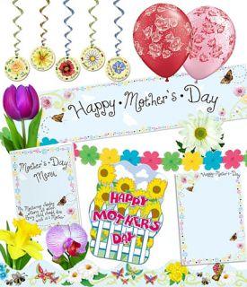Restaurant Pub Event Planners Complete Party Venue Decorations Kit Mothers Day