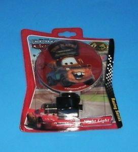 Childrens Disney Cars Night Light Toy Kids Gift Mater