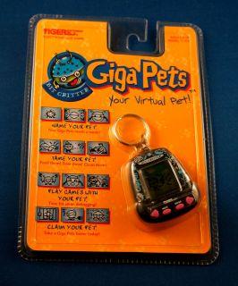 Bit Critter Giga Pet Tiger Electronic Virtual Handheld Keychain Toy Game Alien