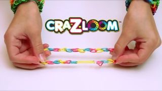 Cra Z Loom 600 Rubber Band Bracelet Making Kit Kids Toys Arts Crafts Jewelry Fun