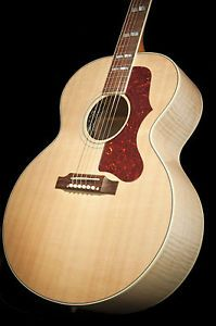 Gibson J185 Acoustic Electric Guitar w Hard Case Jumbo
