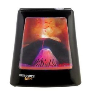 Discovery Kids Animated Lamp Volcano Toys Science Nature Animals New Fas