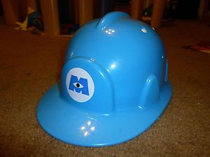 Disney Monster's Inc Blue Hard Hat Helmet from Disney on Ice Costume Cosplay
