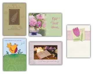 All Occasion Greeting Cards Box of 50 New Birthday Wishes Get Well Sympathy