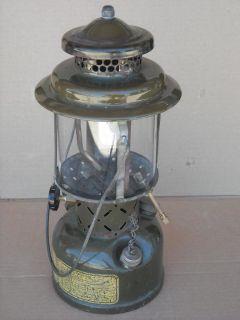 Vintage Vietnam Coleman US Military Gas Lantern 1960s