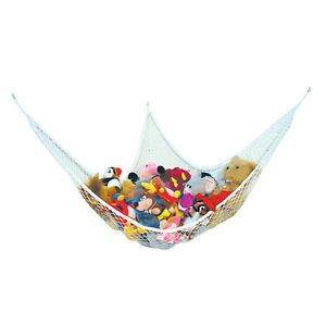 """3 Feet"" Toy Hammock Net Organize Stuffed Animals and Bath Kids Toys Free s H"