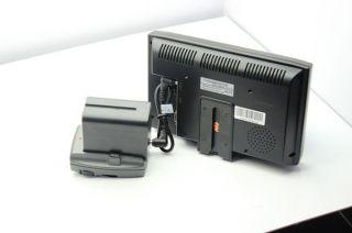 """Lilliput 619A 7"""" HD on Camera Field TFT LCD Monitor VGA Audio HDMI DVI Input"""