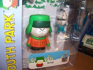 New South Park Mezco Figure Toy Kyle Ike Kidrobot Angry Variant SEALED Fast SHIP