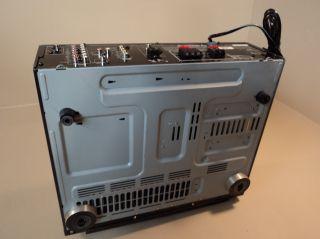 JVC Audio Video Stereo Control Receiver Compulink Remote 180W RX 6010VBK