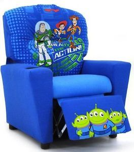 Kidz World Children's Recliner Disney's Toy Story 3 Ages 3 7 Made in USA
