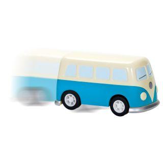 Wind Up Pull Back Mechanical Retro VW camper Van Great Stocking Filler BNWT