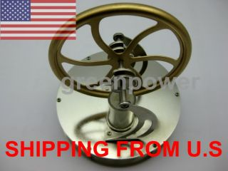 Brand New Low Temperature Stirling Engine Education Toy Kit Free Shipping Via US