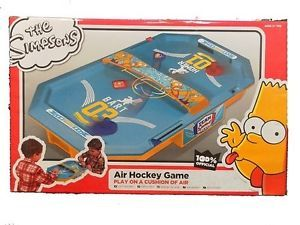 The Simpsons 'Air Hockey Game' Kids Toy Brand New Gift
