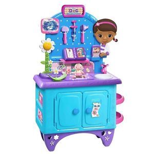 Doc McStuffins Deluxe Get Better Checkup Center Disney Kids Toys Doctor Office