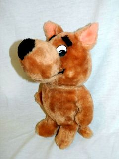 "RARE Vtg 1980 Large 12"" Plush Scrappy Doo Doll Stuffed Scooby Doo Nephew"
