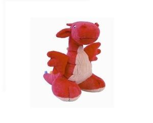Happy Horse Drago The Red Dragon Baby Child Kids Plush Stuffed Animal Toy