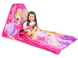 Barbie Slumber Retreat with Sleeping Bag Play Tent Toy Doll Pink Girls Kids New