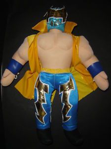 Sin Cara Wrestling Figure Toy Soft Doll Kids Collection Esponjadito Muñeco Bebes