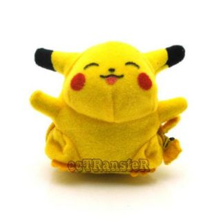 "2 5"" Pikachu Pokeball Pokemon Cute RARE Soft Plush Toy Doll PC1821"