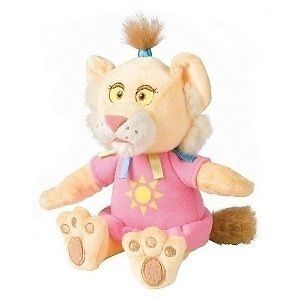 """Between The Lions Leona 7"""" Bean Bag Plush Toy New by Kids Preferred"""
