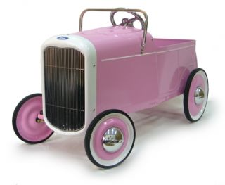 1932 Ford Pink Roadster Pedal Car  New 32 Classic Vintage Ride On