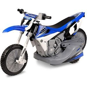 Kids Yamaha Dirt Bike Battery Powered Ride on Power Wheels Car Toy 12 Volt Motor