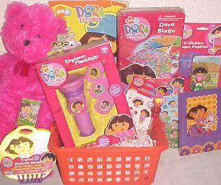New Dora Easter Toy Gift Basket Birthday Toys Art Playset Gift Set